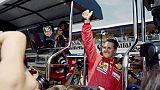 Michael Schumacher, cinq ans à l'arrêt