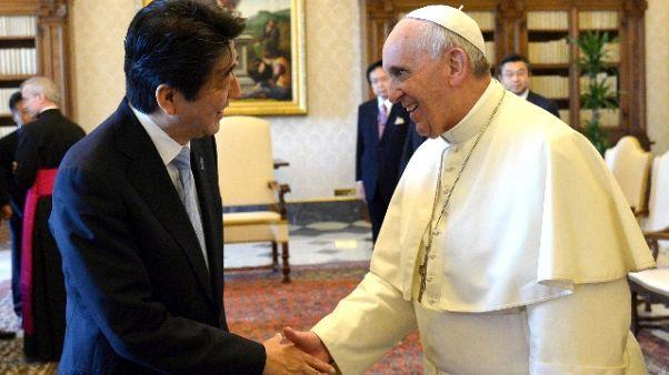 Papa: molti viaggi 2019, anche Giappone