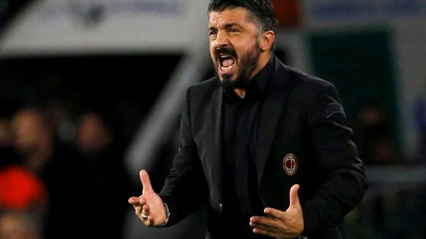 Milan say Gattuso's job is not in danger