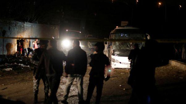 Bomb kills three Vietnamese tourists, Egyptian guide near pyramids - officials