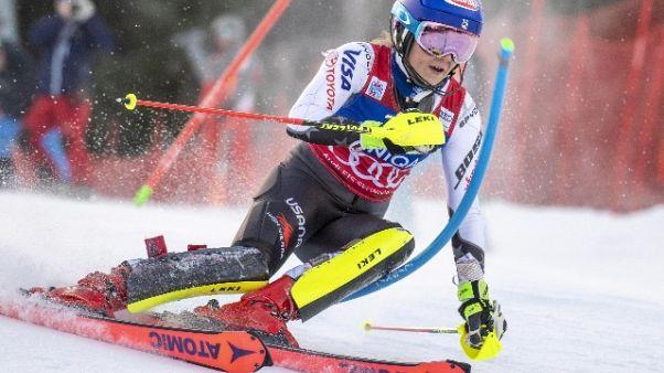 Sci: donne, Shiffrin vittoria da record