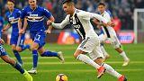 Ronaldo brace gives Juve contentious win over unlucky Samp