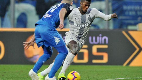 Keita gives Inter hard-fought win at Empoli