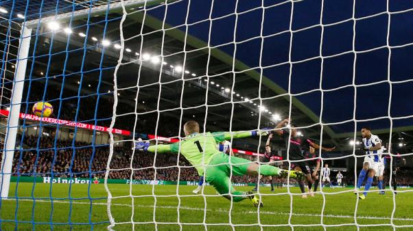 Locadia strike gives Brighton 1-0 win over unlucky Everton