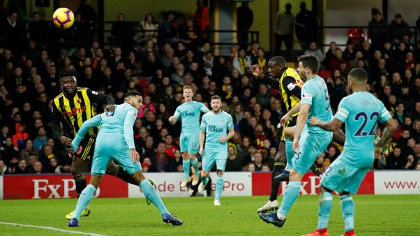 Doucoure comes off bench to save Watford