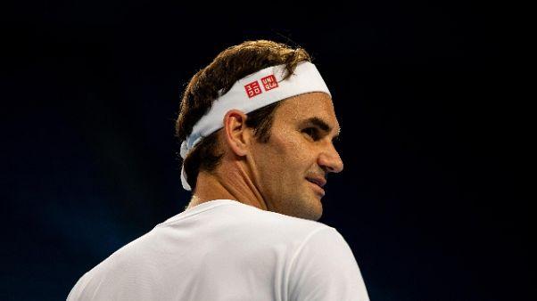 "Federer ""Vedremo se ci sarà un 2020"""