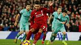 Firmino hat-trick fires Liverpool to easy win over Arsenal