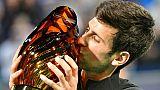 Abou Dhabi: Djokovic rejoint Nadal avec un 4e trophée