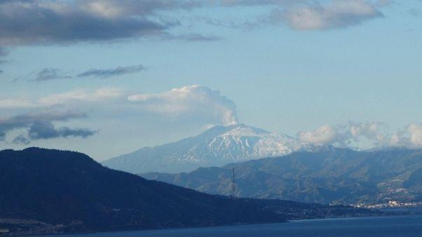 Etna, stanotte due scosse magnitudo 2.9
