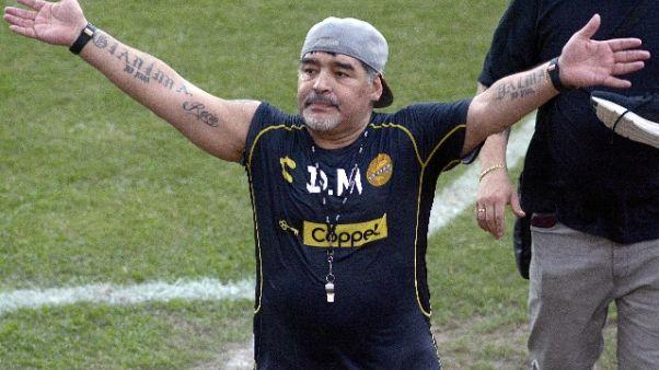Maradona: Ricordo razzismo contro Napoli
