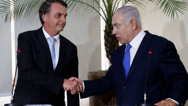 Brazil moving its embassy to Jerusalem matter of 'when, not if' - Israel's prime minister
