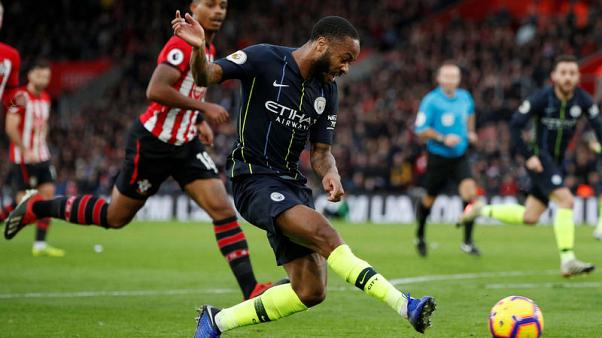 Man City bounce back to beat Saints and close on Liverpool