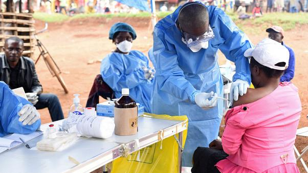 Ebola-hit Congolese town stages mock vote to protest at ban
