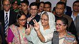 Bangladesh PM rejects complaints of rigging after landslide win