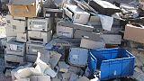 Rifiuti in Nigeria, sequestro container