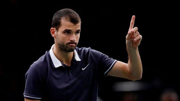 Tennis - Dimitrov and Raonic off to winning starts in Brisbane