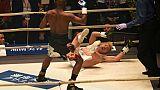 """Boxe: Mayweather, deux minutes de """"divertissement"""" et un pactole"""