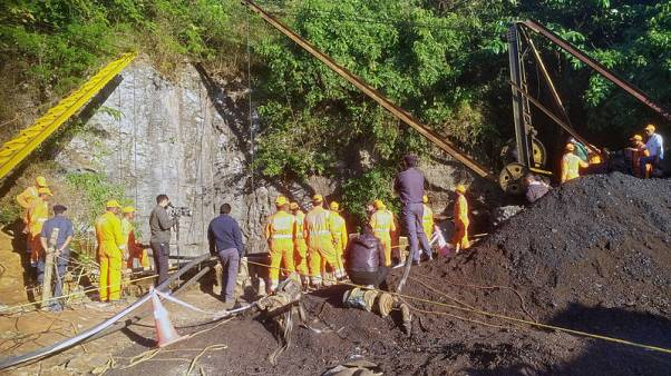 Families, friends of trapped Indian miners lose hope after 18 days