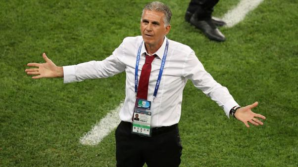 Soccer - Iran coach Queiroz eyes strong start to Asian Cup campaign