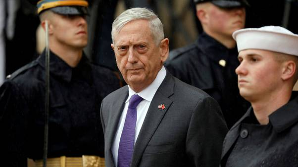 As Mattis exits, he tells U.S. military to keep 'faith in our country'