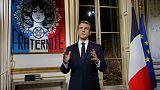 France's Macron pledges more reform medicine in 'decisive' 2019