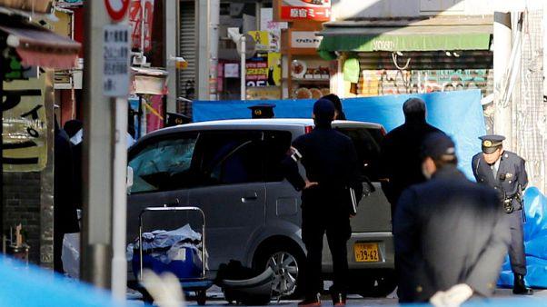 سيارة تصدم حشدا من المحتفلين بالعام الجديد في طوكيو وإصابة ثمانية
