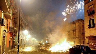 Capodanno, 658 interventi vigili fuoco