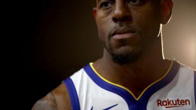 Le joueur des Golden State Warriors à Oakland le 24 septembre 2018
