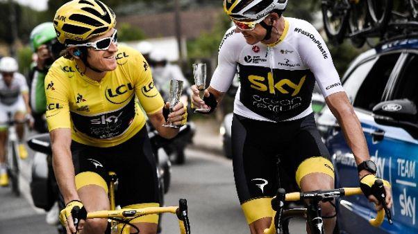 Ciclismo: Froome e Thomas niente Giro