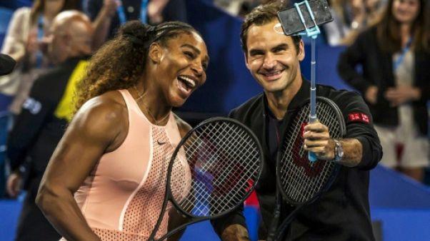 Hopman Cup: Federer l'emporte sur Williams dans un double mixte à 43 Grand Chelem