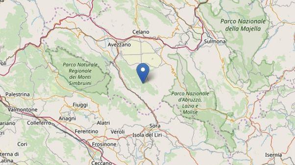 Terremoto: scossa 4.2 in Abruzzo