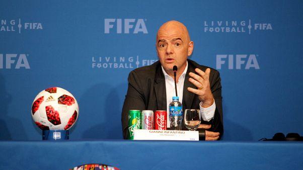 إنفانتينو: الفيفا يدرس إمكانية توسيع كأس العالم 2022 لتشمل 48 منتخبا