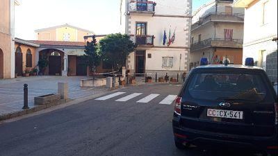 Ordigno inesploso in Municipio Ogliastra
