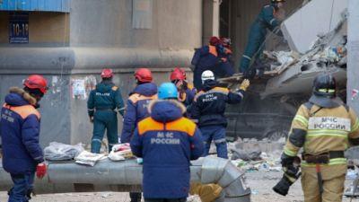 Explosion due au gaz en Russie: au moins 18 morts dans l'immeuble de l'Oural