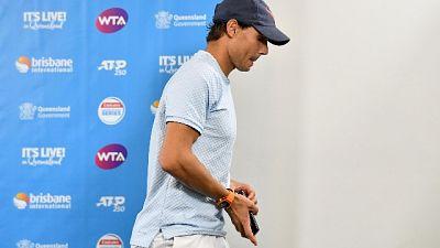 Tennis, a Brisbane forfait Nadal