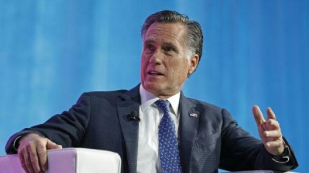 Le sénateur Mitt Romney exprime ses doutes sur la stature de Donald Trump