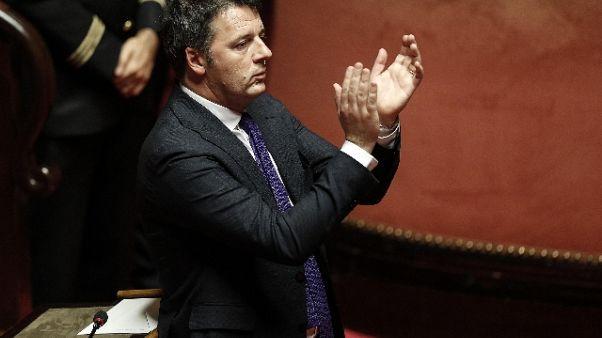 """Renzi: """"Posso anche tornare al governo"""""""