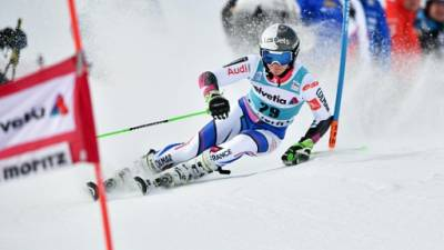 Ski: fin de saison pour Adeline Mugnier, blessée au genou gauche