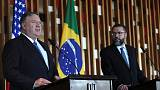 U.S.'s Pompeo discusses Venezuela with Brazil's new right-wing government