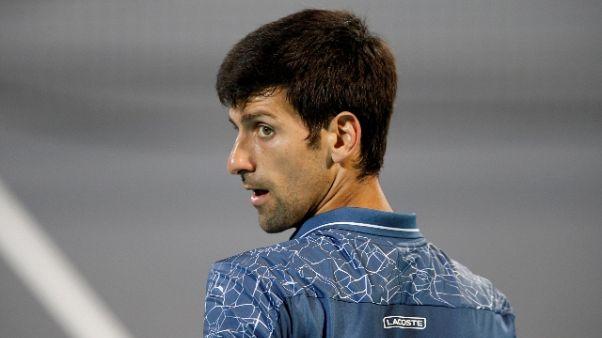 A Doha avanza Djokovic