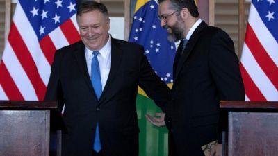 """Le Brésil de Bolsonaro et les Etats-Unis pour une relation """"transformée"""""""