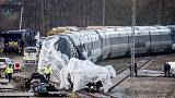 Danish police says eight killed in train accident, probably all Danes