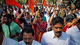Protests paralyse India's southern state after women defy temple ban