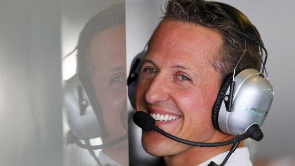 Schumacher:50 anni,apre mostra Maranello