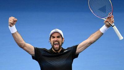 Tennis: Chardy en demies après sa victoire sur Uchiyama à Brisbane