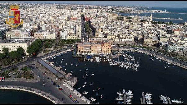 'Pizzo' e spari in strada,7 fermi a Bari
