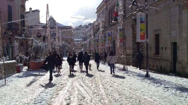 Ancora venti forti e neve al Centro Sud