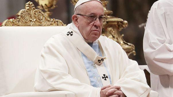البابا فرنسيس ينتقد الأساقفة الأمريكيين بشأن فضيحة الانتهاكات ويدعو للوحدة