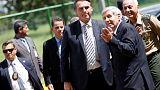 Brazil's Bolsonaro says he is open to hosting a U.S. military base