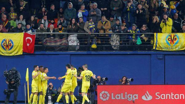 فياريال يتعادل مع ريال مدريد بثنائية كازورلا
